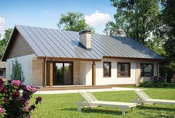 Проект дома из блоков АСД-1860