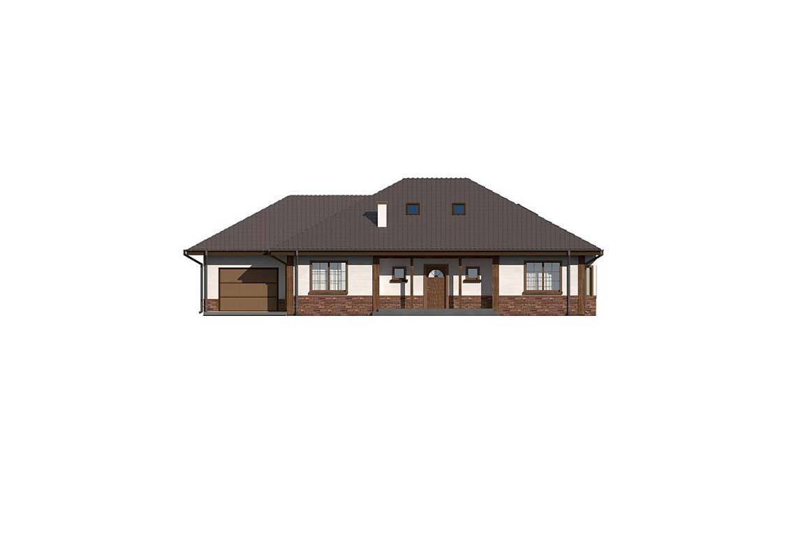 Проект дома из блоков АСД-1861 (uploads/gss/goods/882/big_2.jpg).