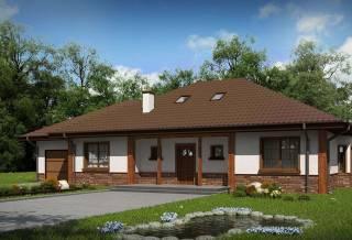 Проект дома из блоков АСД-1861 (uploads/gss/goods/882/thumb_1.jpg).