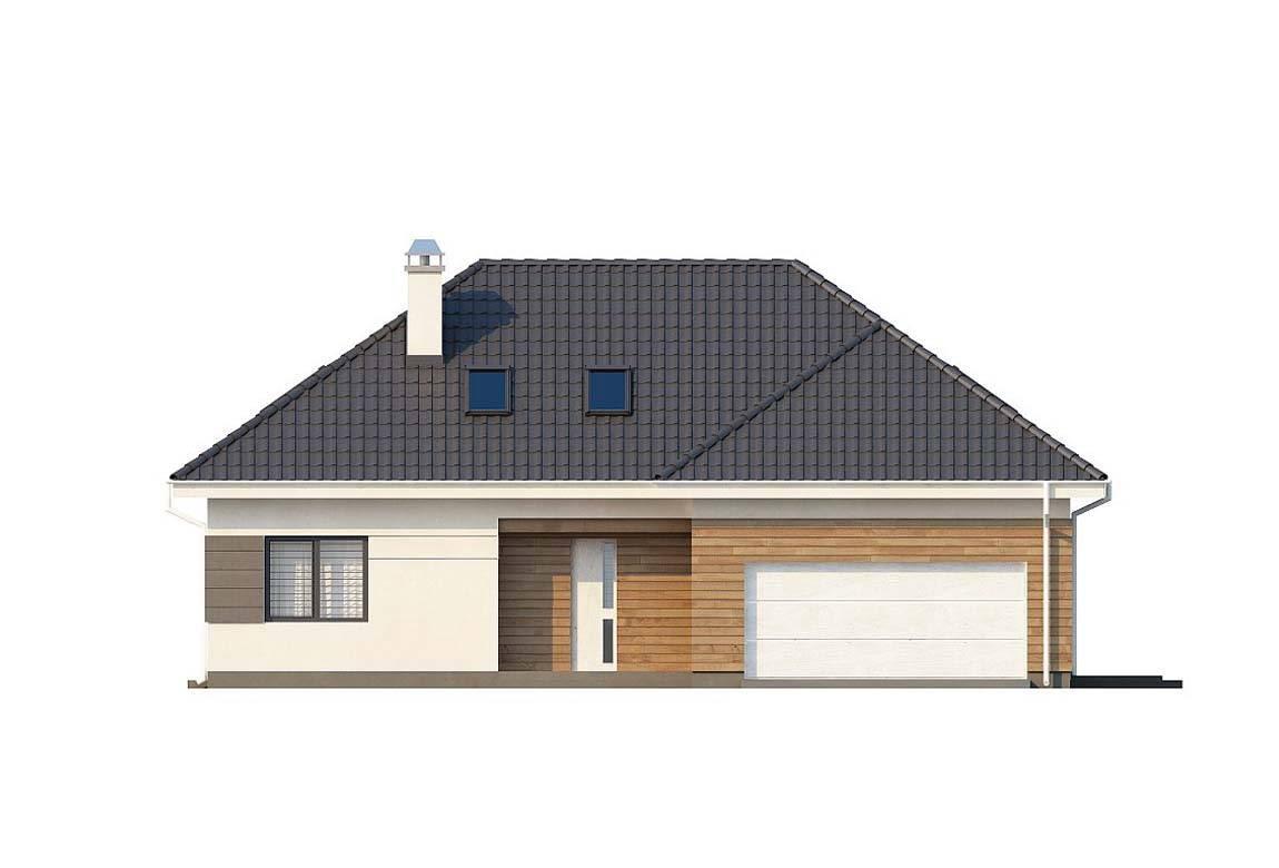 Проект дома из блоков АСД-1863 (uploads/gss/goods/884/big_3.jpg).