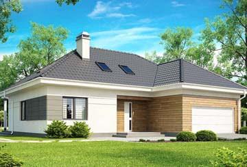 Проект дома из блоков АСД-1863