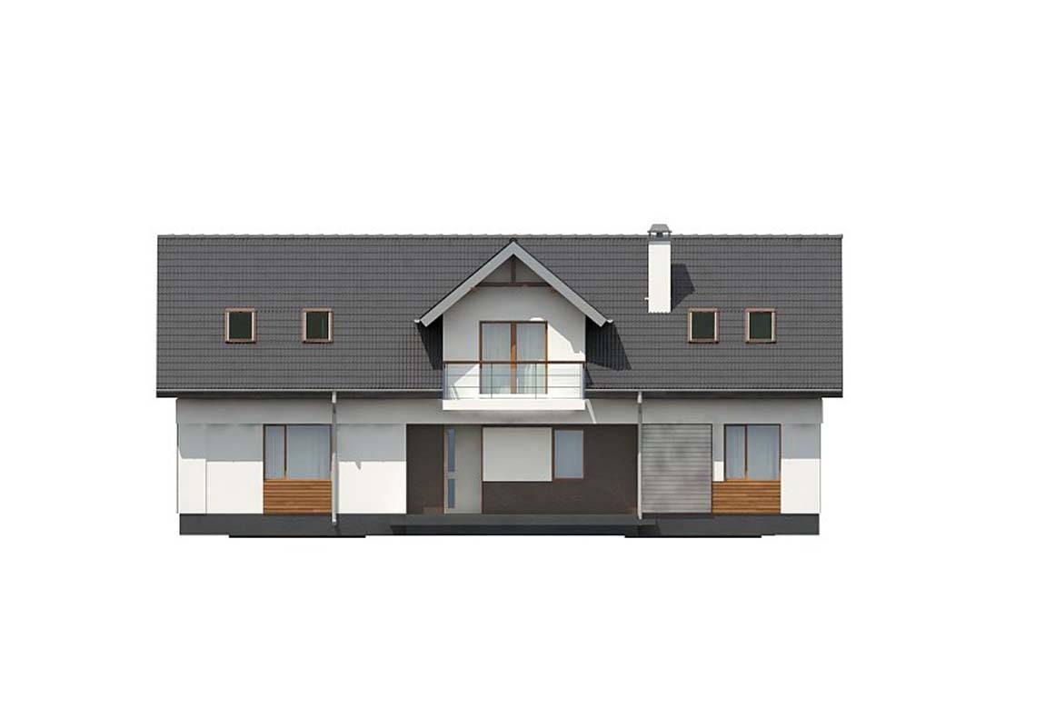 Проект дома из блоков АСД-1865 (uploads/gss/goods/886/big_8.jpg).