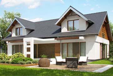 Проект дома из блоков АСД-1865