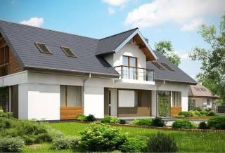 Проект дома из блоков АСД-1865 (uploads/gss/goods/886/thumb_1.jpg).