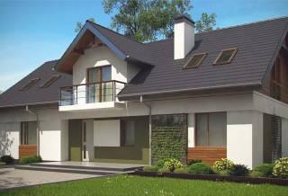 Проект дома из блоков АСД-1865 (uploads/gss/goods/886/thumb_2.jpg).