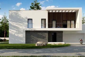 Проект дома из блоков АСД-1866