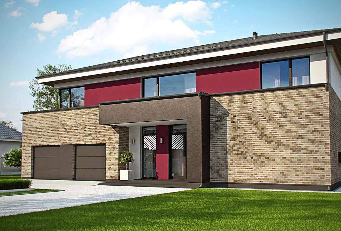 Проект дома из блоков АСД-1868 (uploads/gss/goods/889/big_1.jpg).