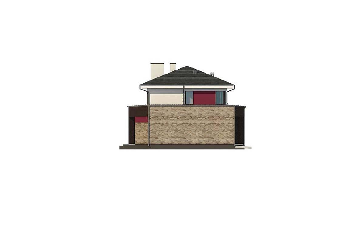 Проект дома из блоков АСД-1868 (uploads/gss/goods/889/big_10.jpg).