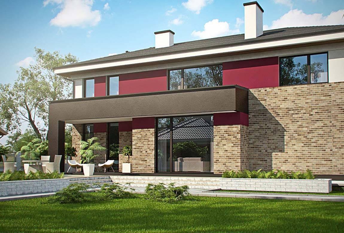 Проект дома из блоков АСД-1868 (uploads/gss/goods/889/big_2.jpg).