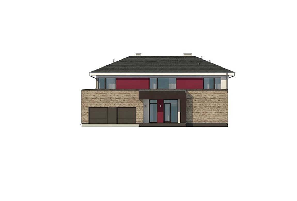Проект дома из блоков АСД-1868 (uploads/gss/goods/889/big_7.jpg).
