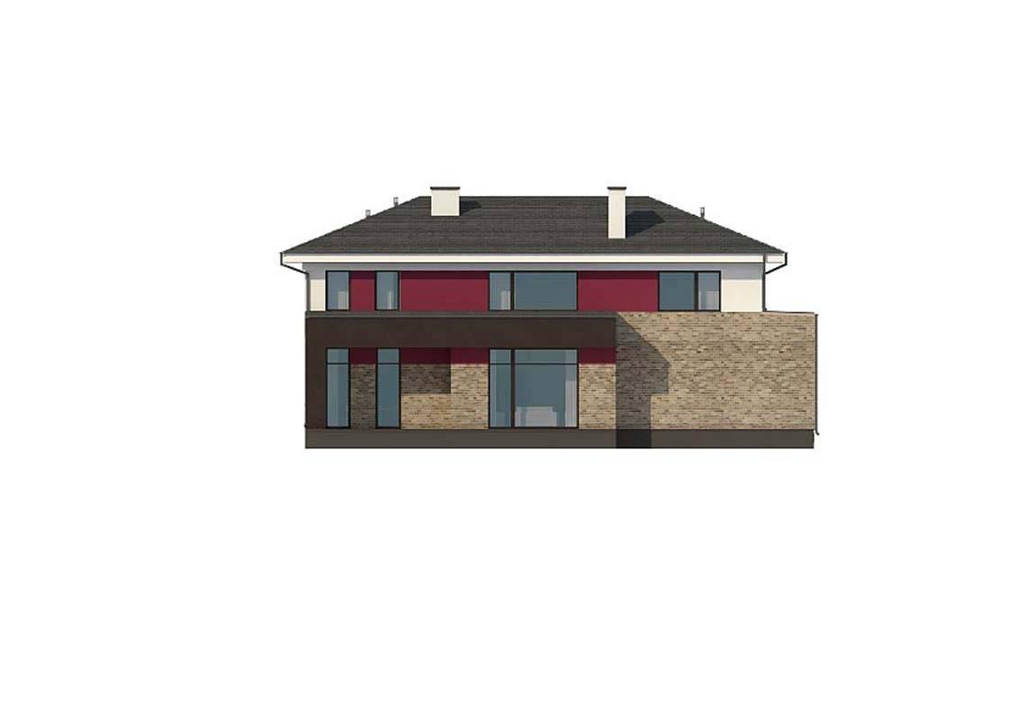 Проект дома из блоков АСД-1868 (uploads/gss/goods/889/big_8.jpg).