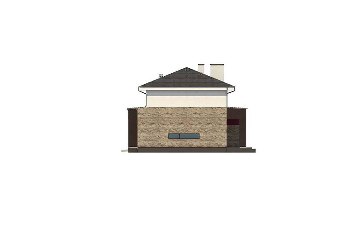 Проект дома из блоков АСД-1868 (uploads/gss/goods/889/big_9.jpg).