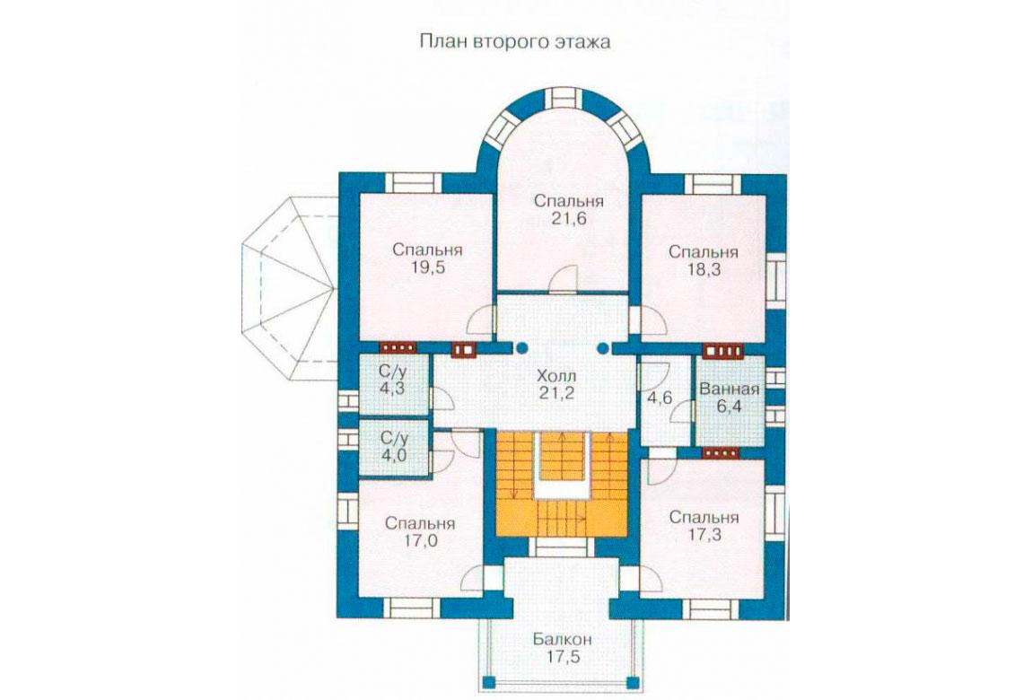 План N1 проекта ВИП дома АСД-1089