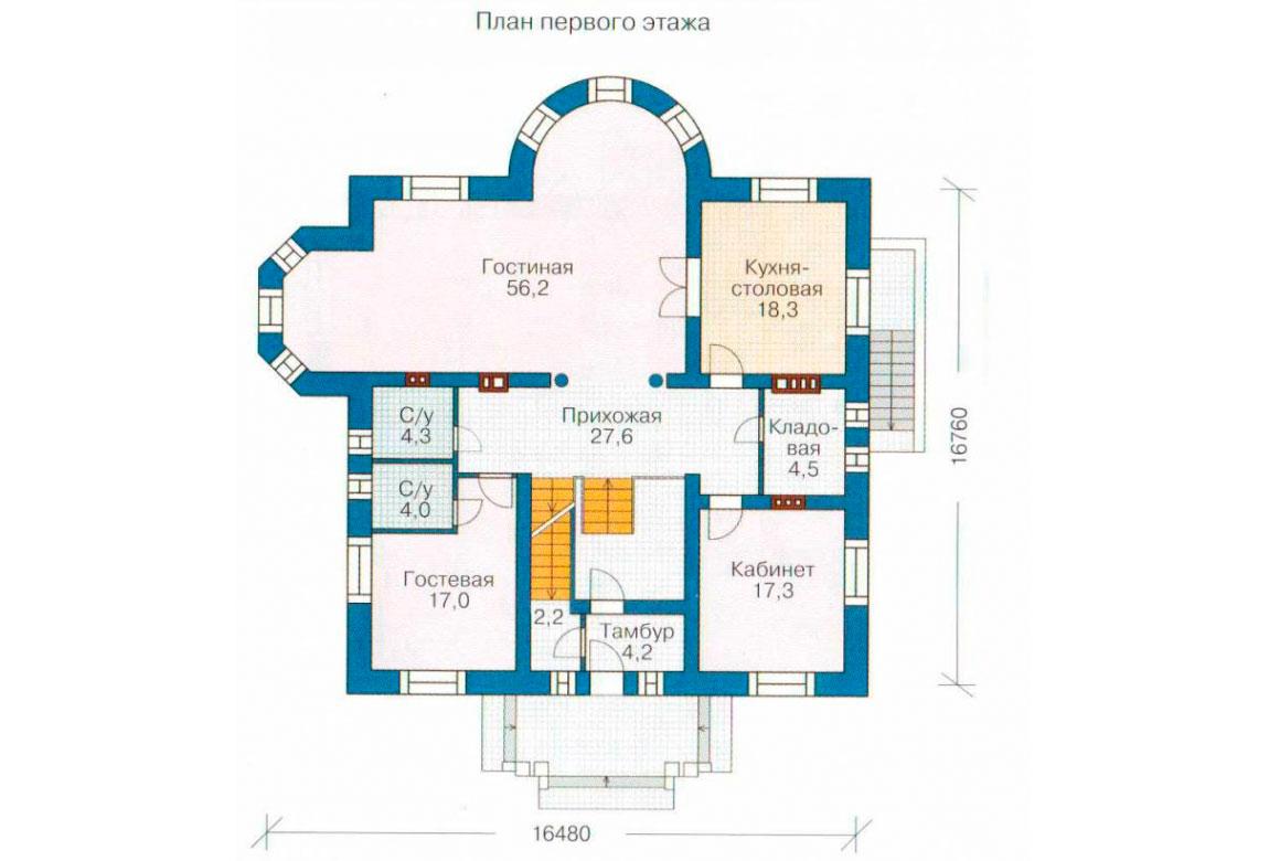 План N2 проекта ВИП дома АСД-1089