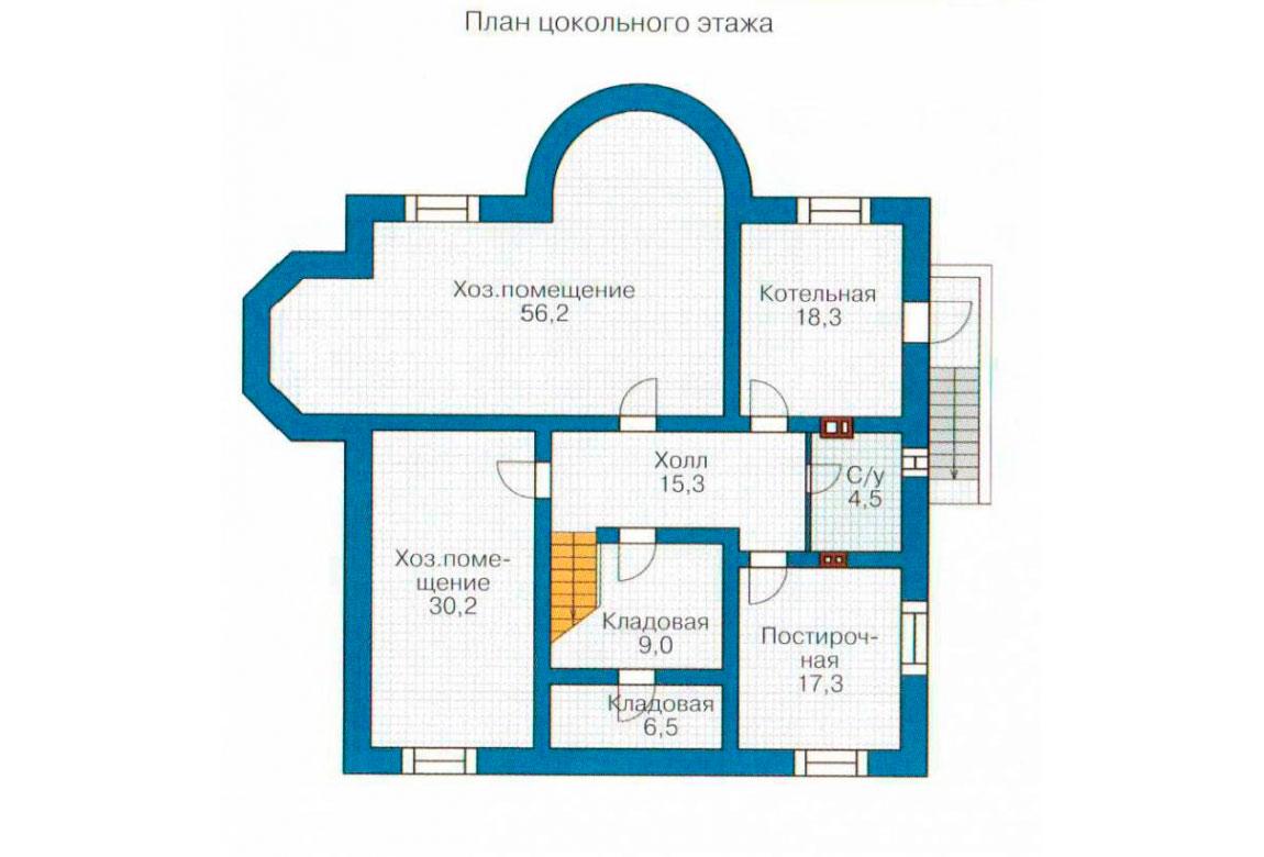 План N3 проекта ВИП дома АСД-1089