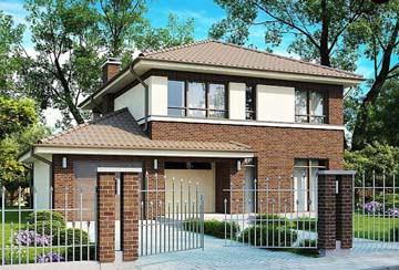 Проект дома из блоков АСД-1892