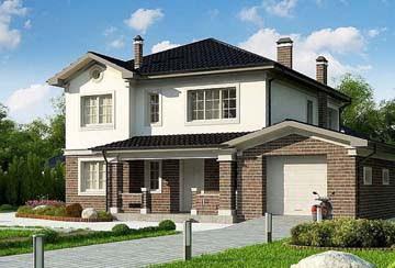 Проект дома из блоков АСД-1894