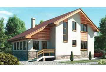 Проект кирпичного дома АСД-1009