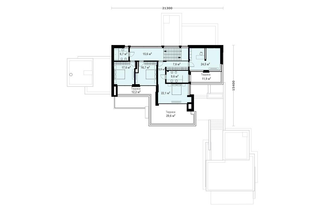 План N2 проекта ВИП дома АСД-1904