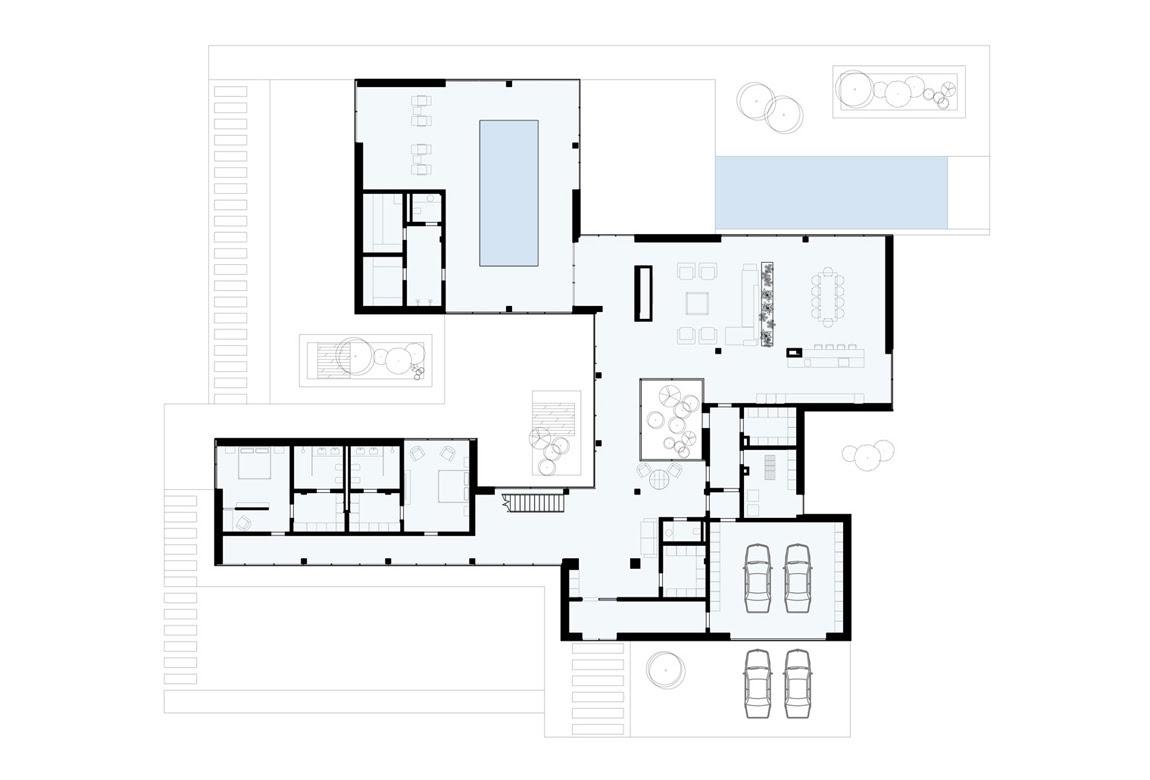 План N1 проекта ВИП дома АСД-1907