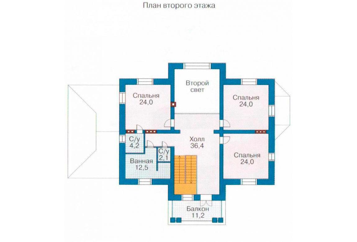 План N1 проекта ВИП дома АСД-1091