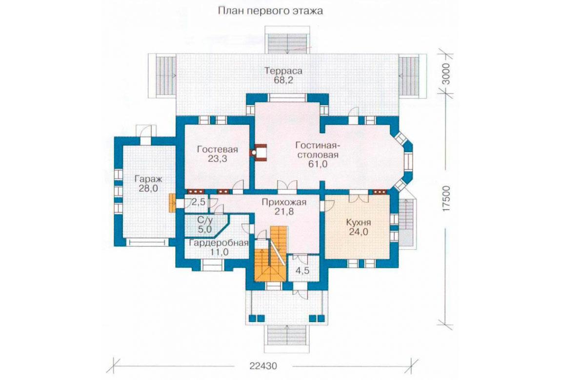 План N2 проекта ВИП дома АСД-1091