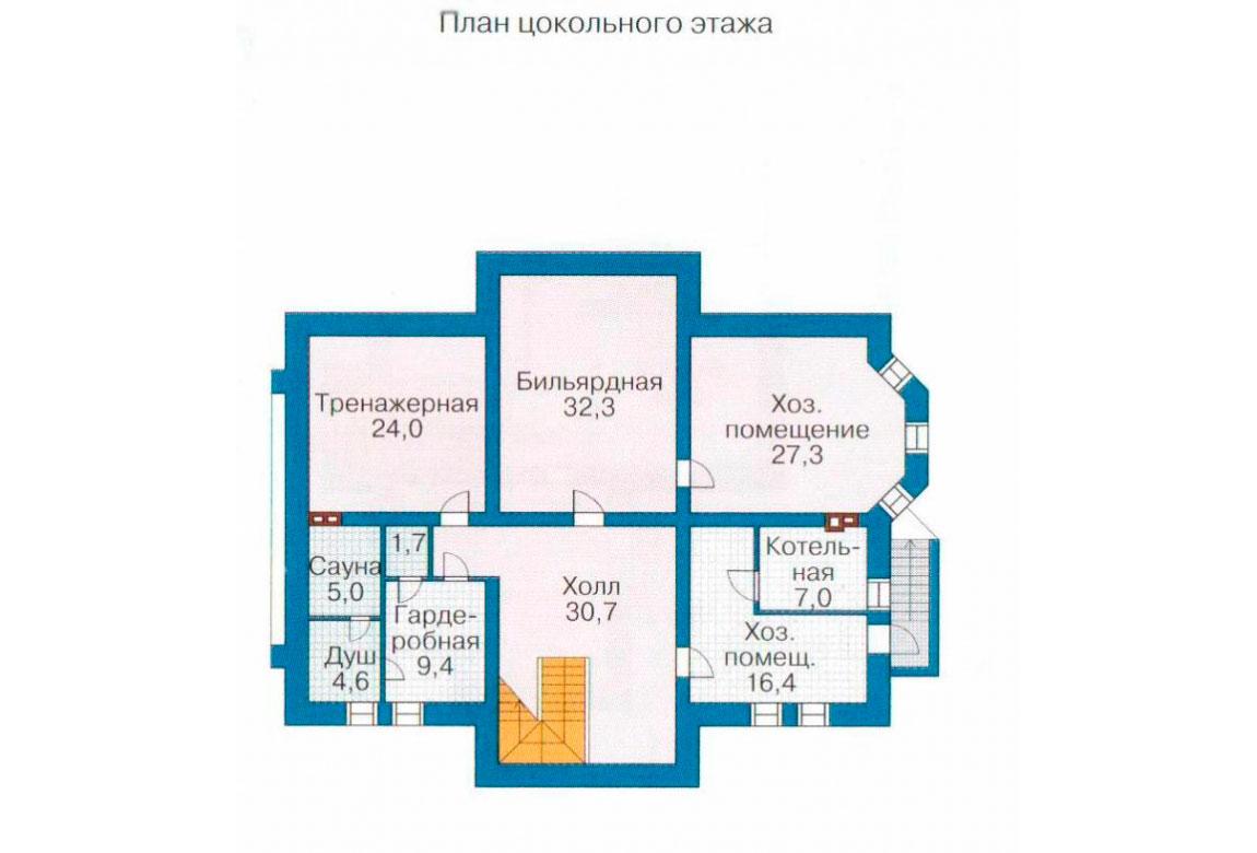 План N3 проекта ВИП дома АСД-1091