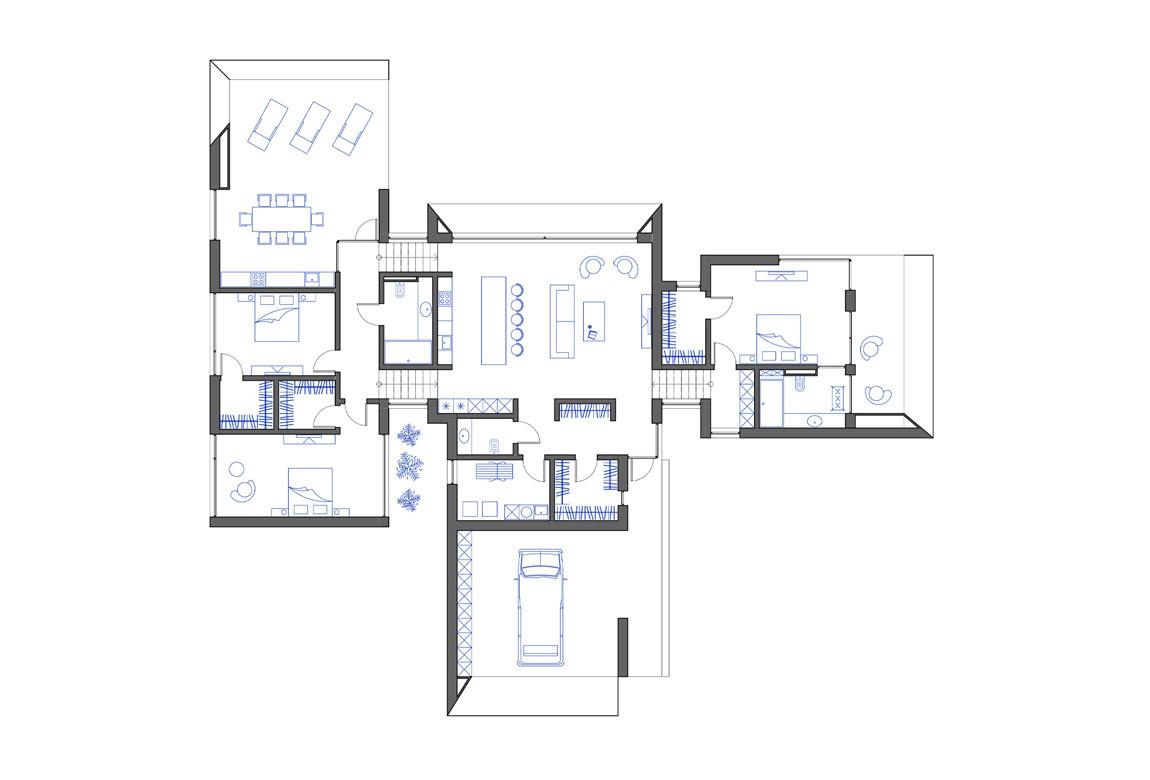 План N1 проекта ВИП дома АСД-1918