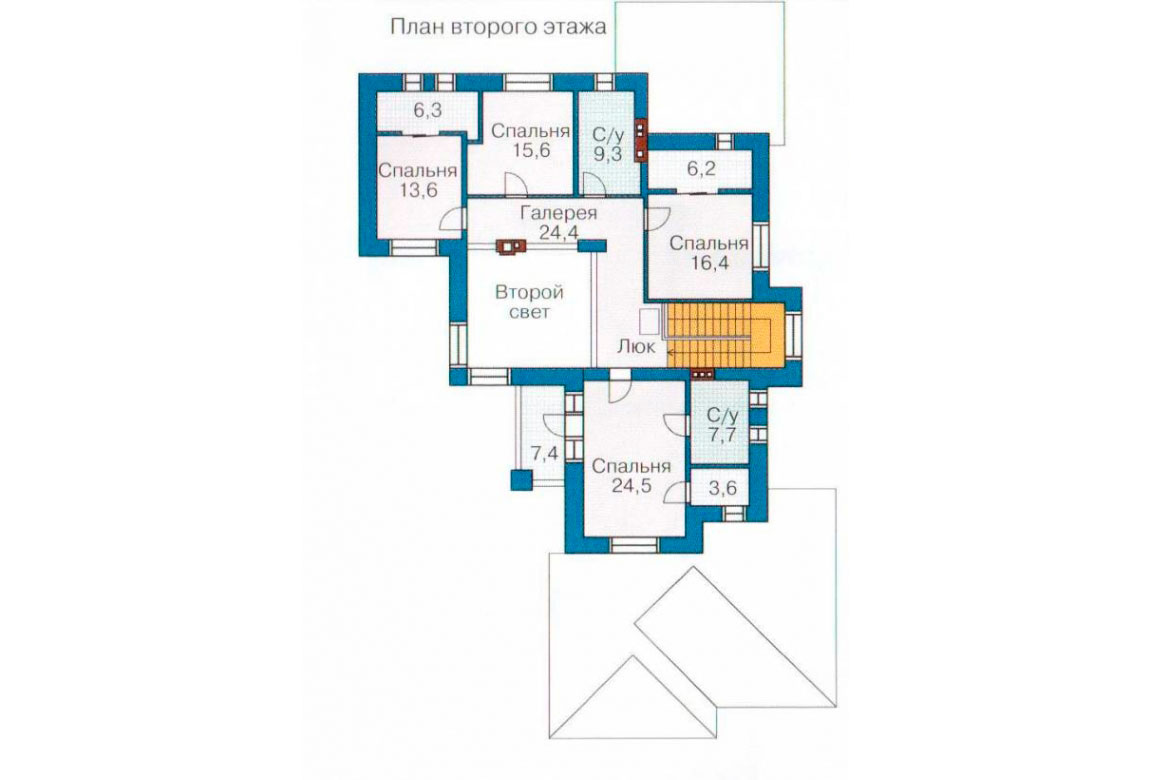 План N2 проекта ВИП дома АСД-1092