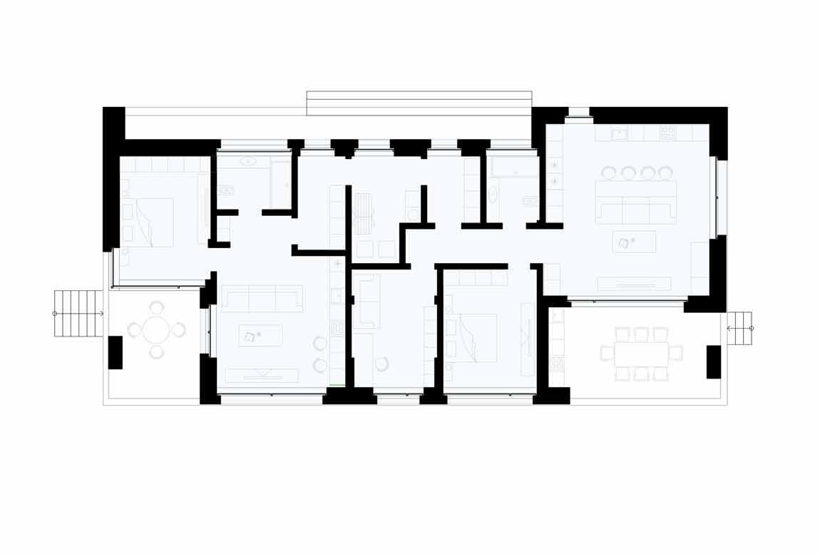 План N1 проекта ВИП дома АСД-1920