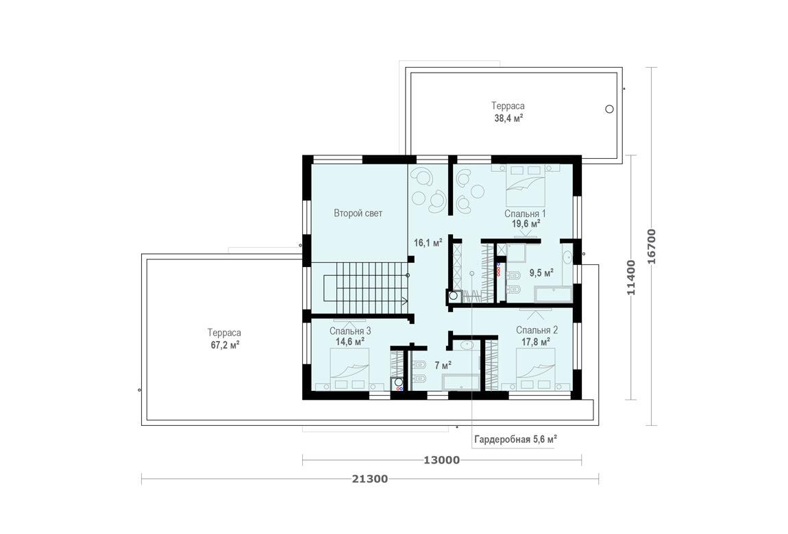 План N2 проекта ВИП дома АСД-1924