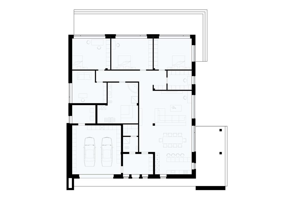 План N1 проекта ВИП дома АСД-1926