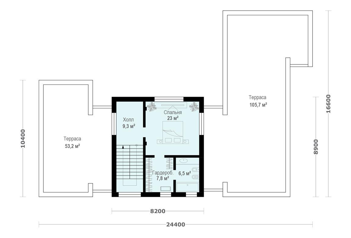 План N2 проекта ВИП дома АСД-1930