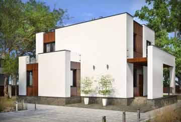 Проект дома из блоков АСД-1938