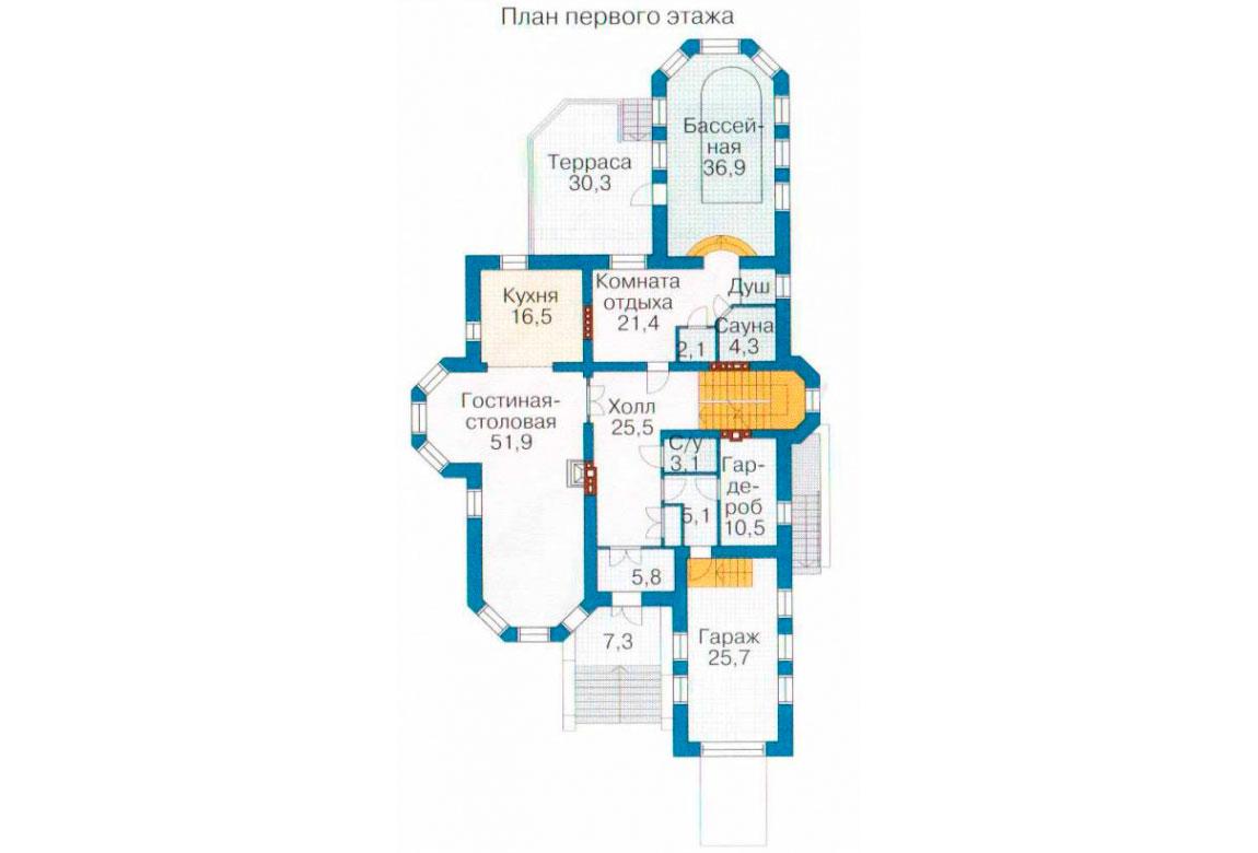 План N2 проекта ВИП дома АСД-1094