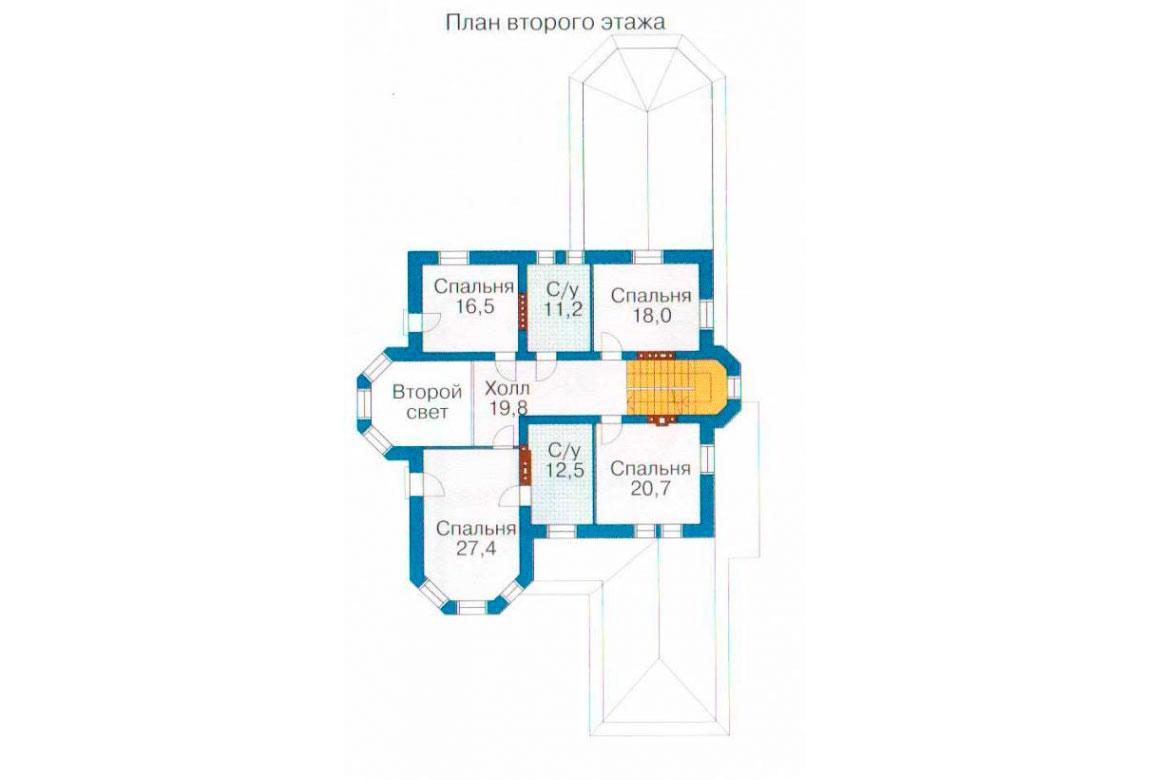 План N3 проекта ВИП дома АСД-1094