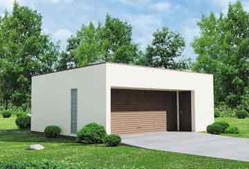 Проект гаража АСД-1942