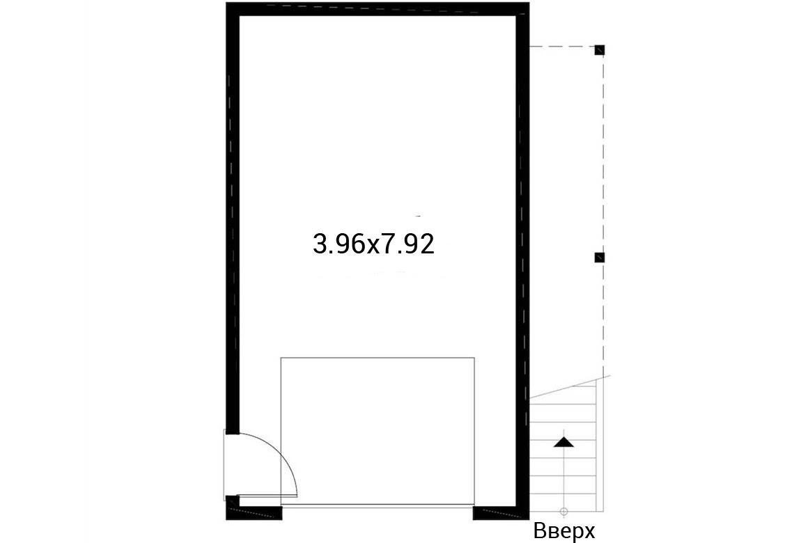 План N1 проекта гаража АСД-1943
