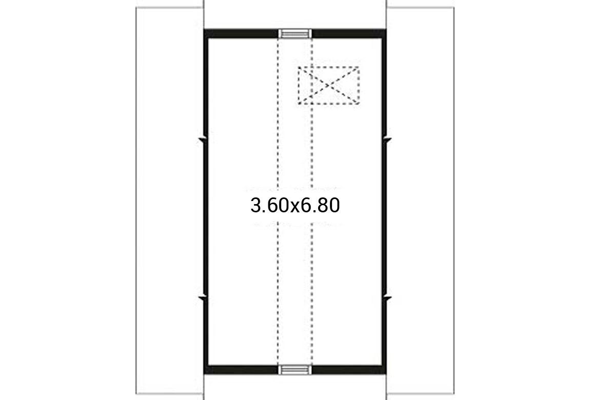 План N2 проекта гаража АСД-1945