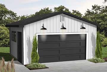 Проект гаража АСД-1946