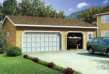 Проект гаража АСД-1957