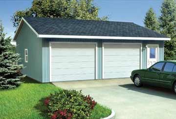 Проект гаража АСД-1958