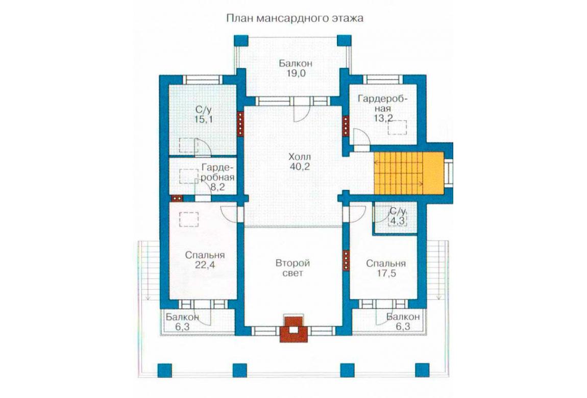 План N1 проекта ВИП дома АСД-1096