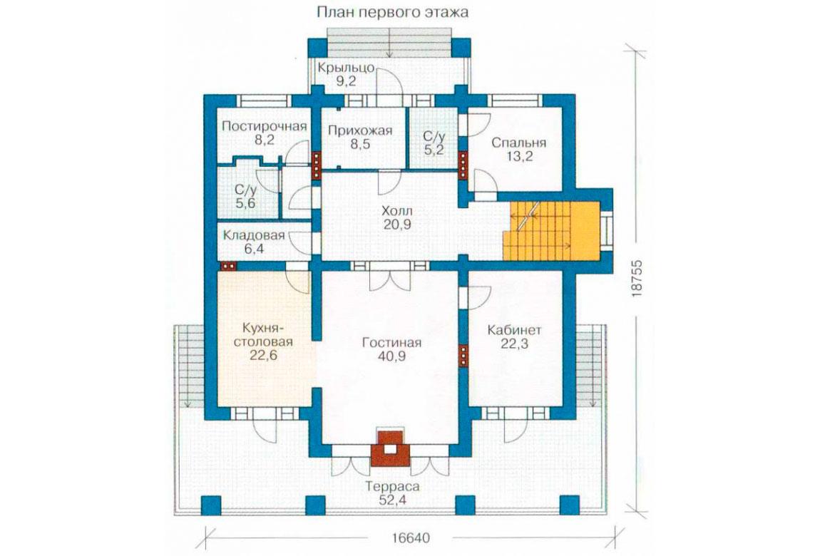 План N2 проекта ВИП дома АСД-1096