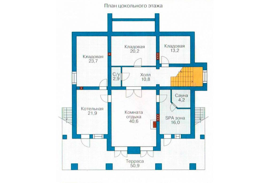 План N3 проекта ВИП дома АСД-1096