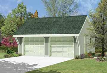 Проект гаража АСД-1961