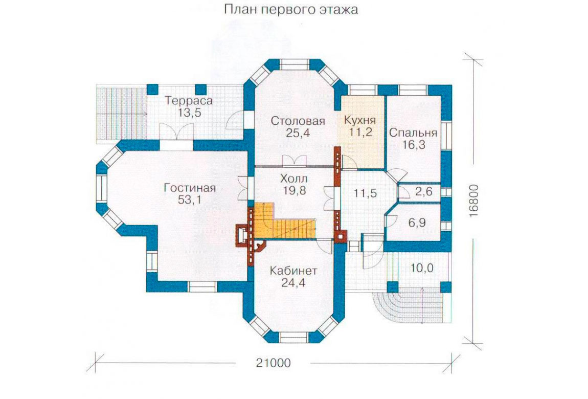 План N2 проекта ВИП дома АСД-1098
