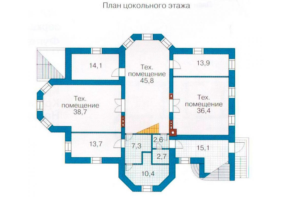 План N3 проекта ВИП дома АСД-1098