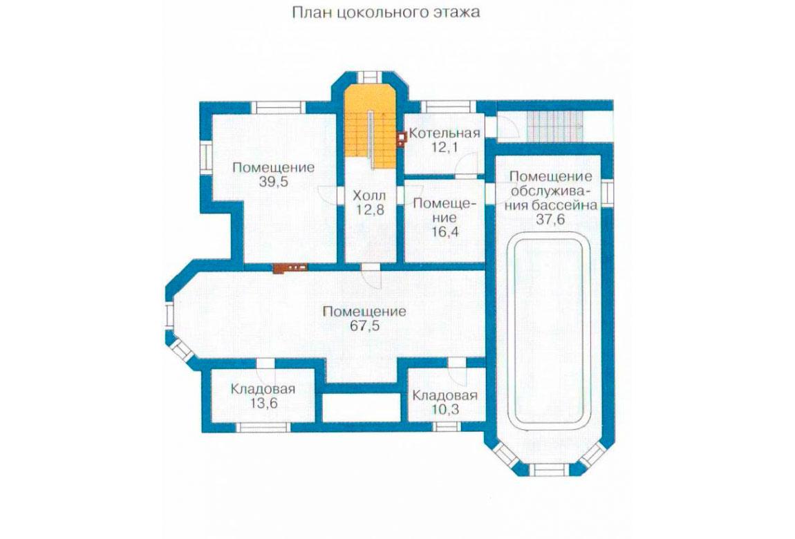 План N1 проекта ВИП дома АСД-1099