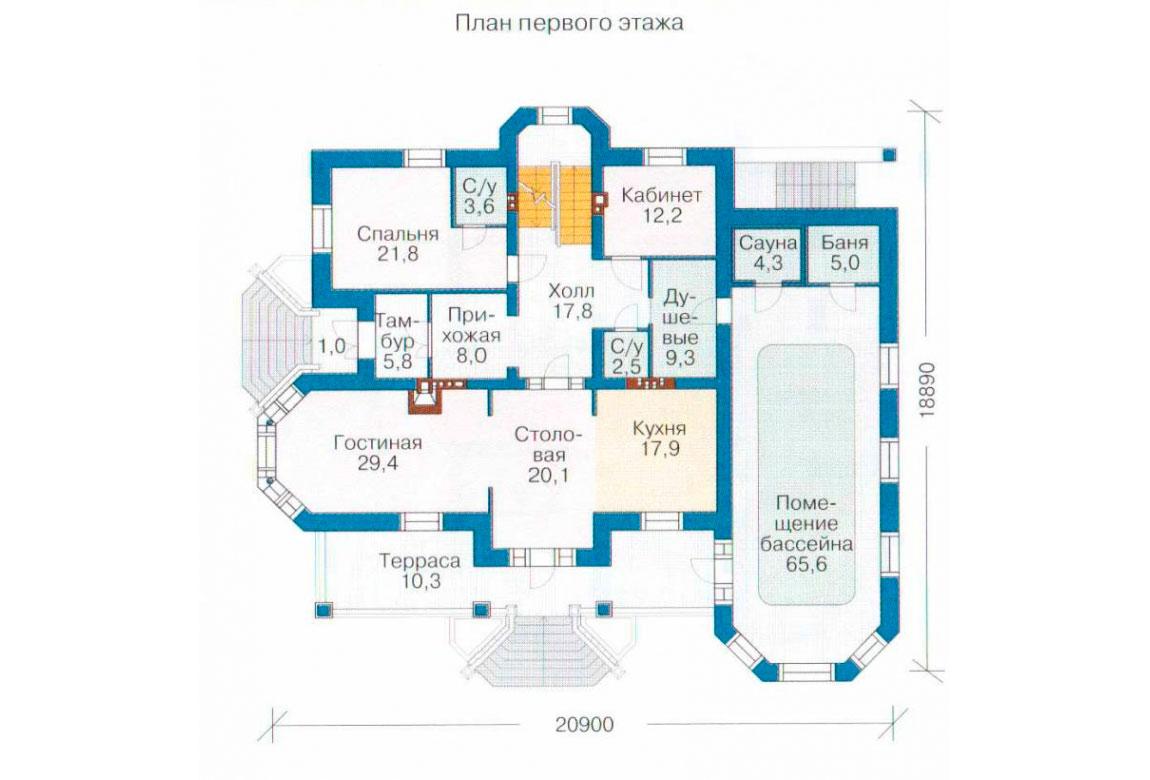 План N2 проекта ВИП дома АСД-1099